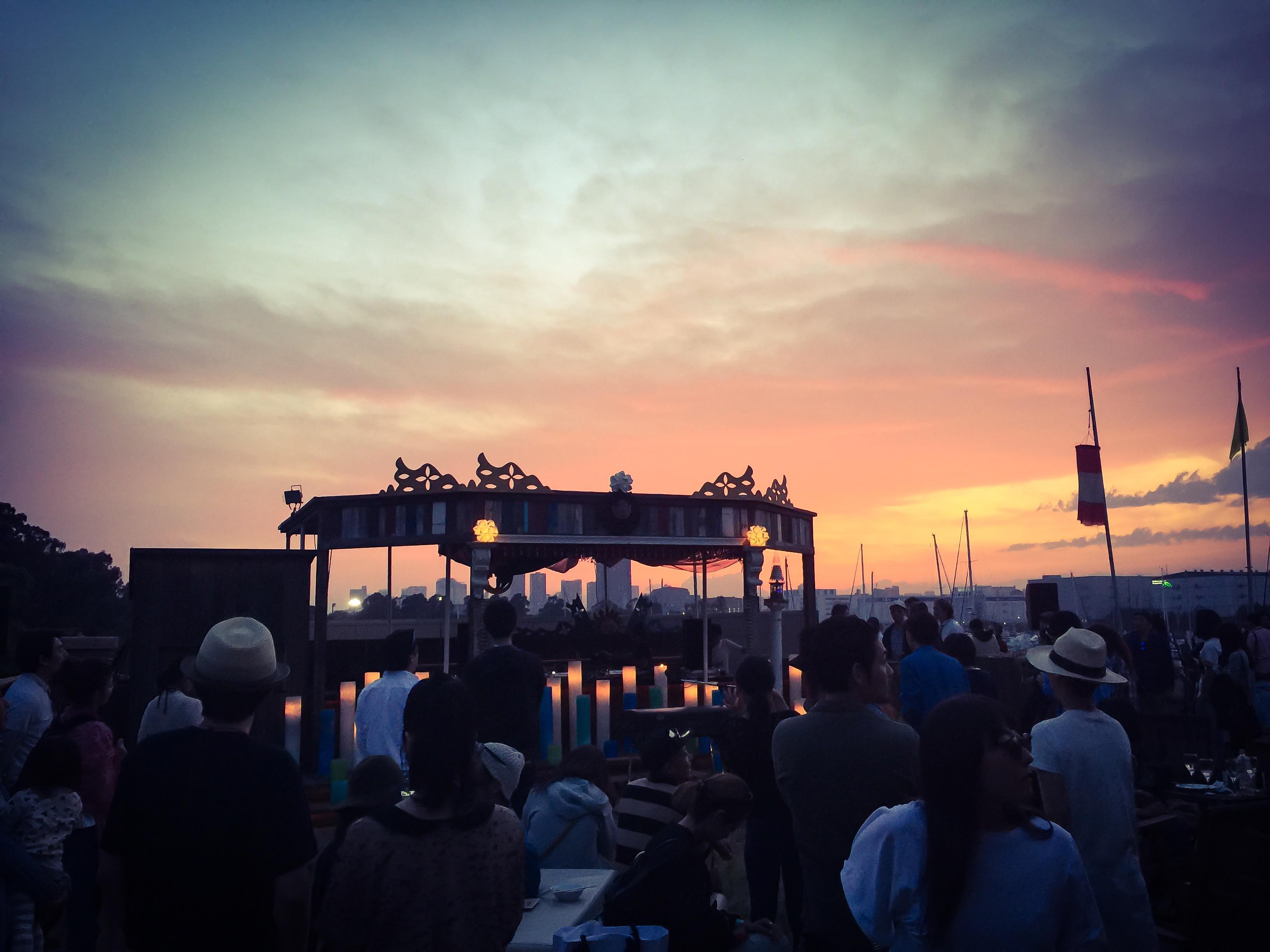 Sunset The MARINA~Urban Urara~