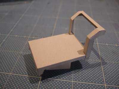 [玉玉屋]制作中の小物系ペーパークラフト
