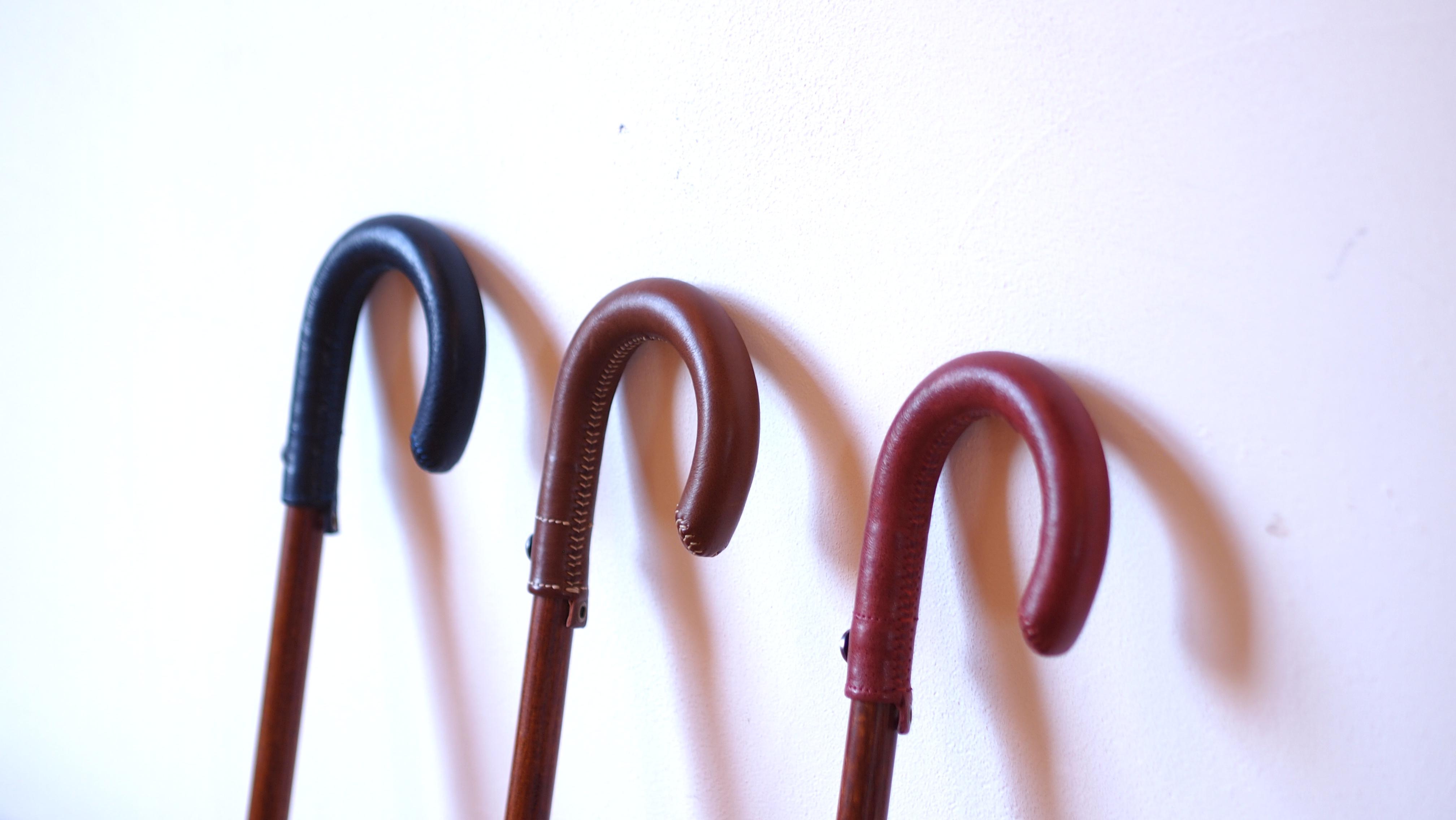 職人がつくる洗練の曲がり、Walking Stick。