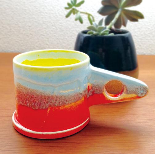 一点モノのマイカップでコーヒーはいかがですか?