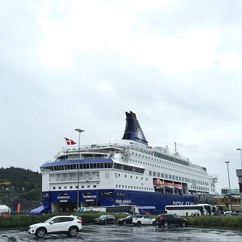 コペンハーゲン→オスロへの船旅