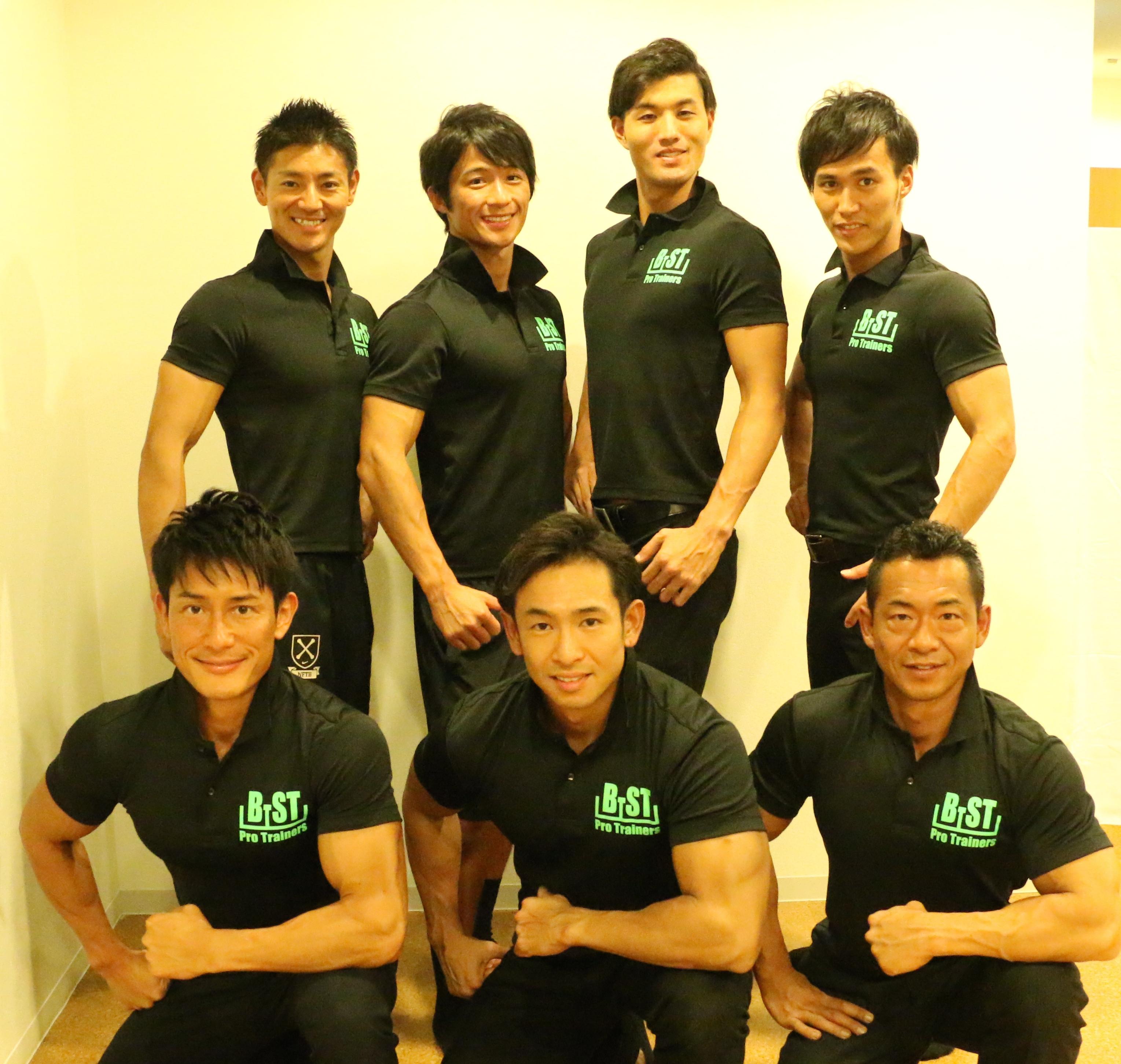 (株)B−STとは…  コンテスト優勝経験者が集まるトレーナー会社