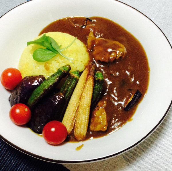 What's 【夏至カレー】??