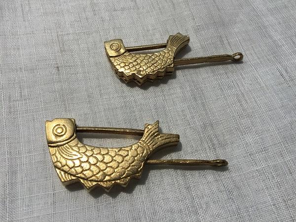 魚の形の鍵について