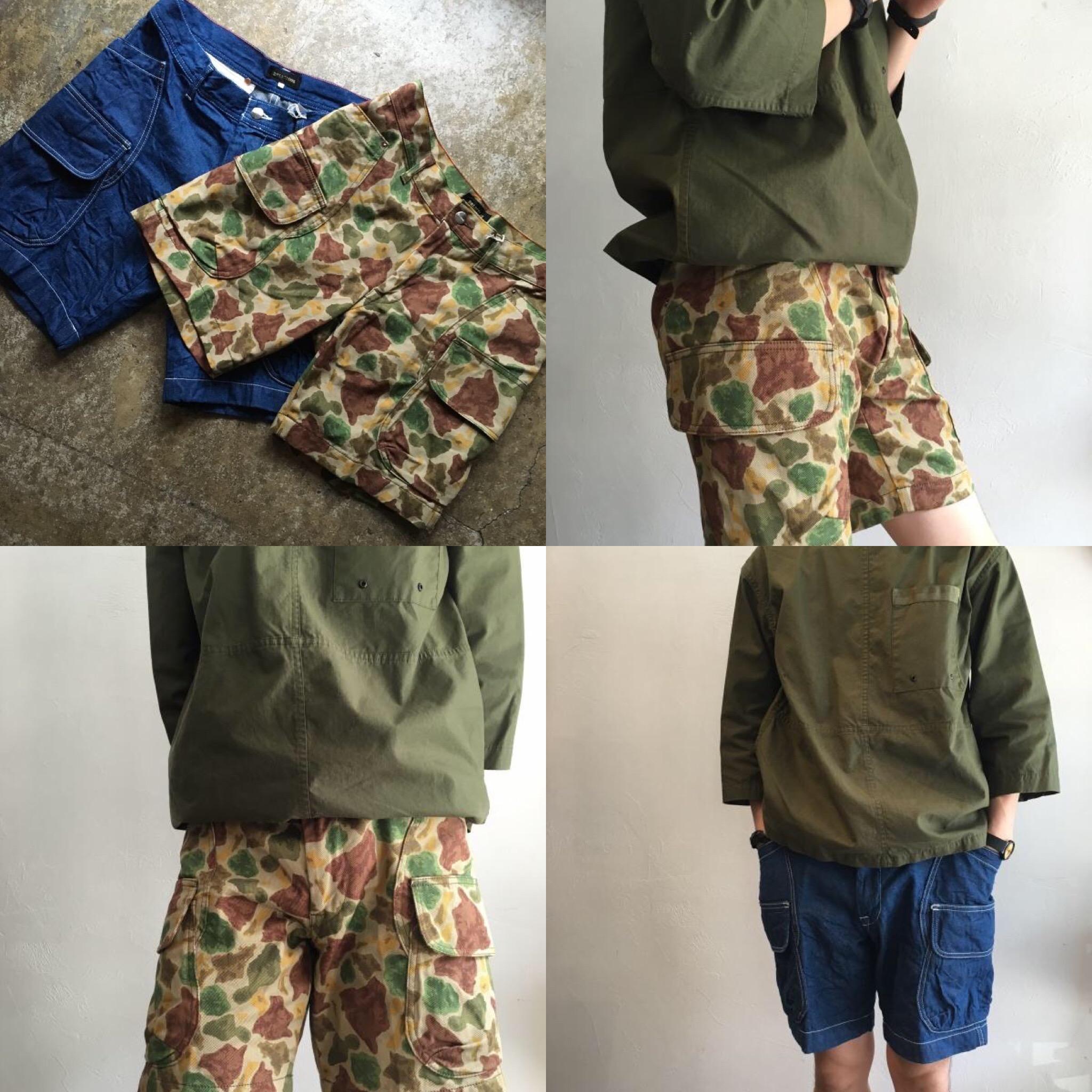 夏のアイテム『Camp Shorts』登場!!