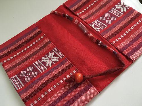 ベトナム手織り生地の優しい質感とアジアのエネルギーで単行本を包みたい