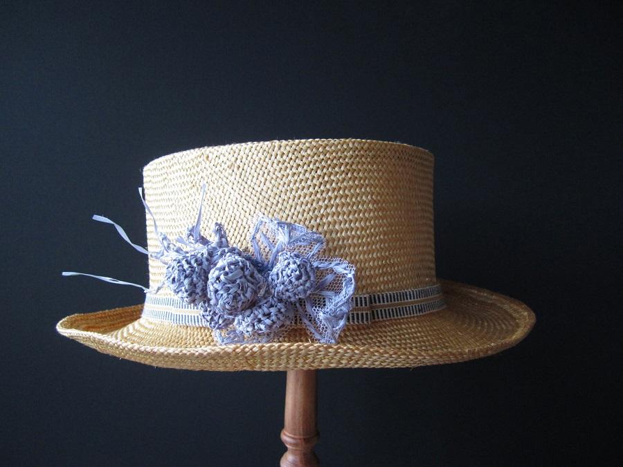 あいの風に装う~王国帽子店のオーダー帽子展~