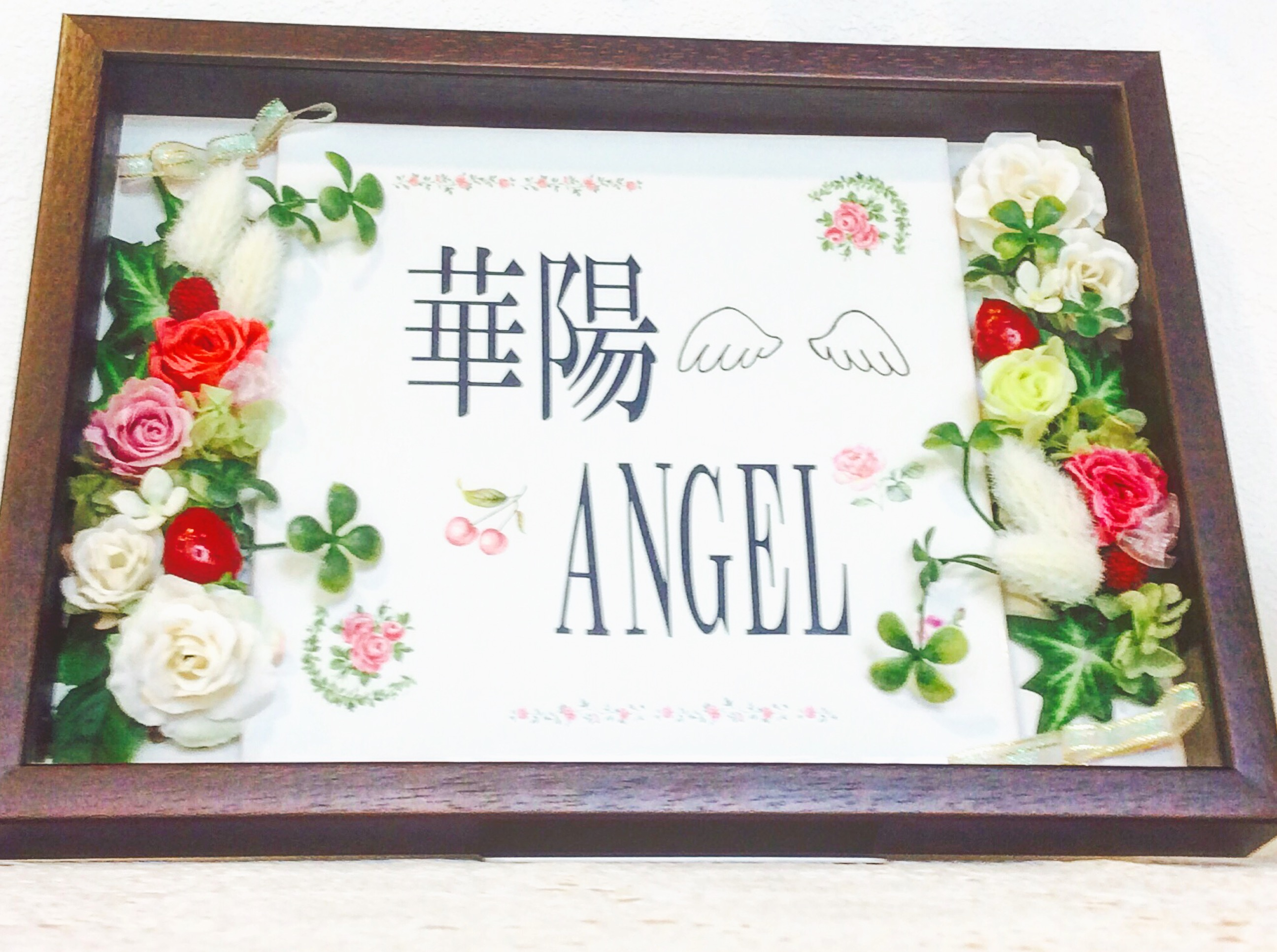 華陽angelの名前について