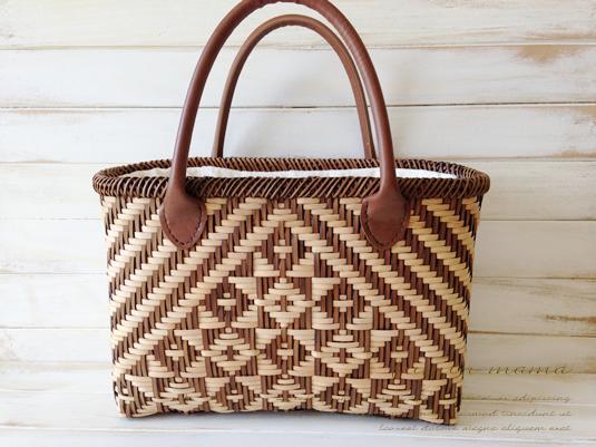 夏はやっぱり「かごバッグ」でしょ!籐作家の作った本格派なカゴバッグを持ってランクアップしましょう♪