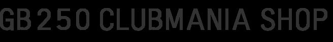 GB250 CLUBMANIA SHOP