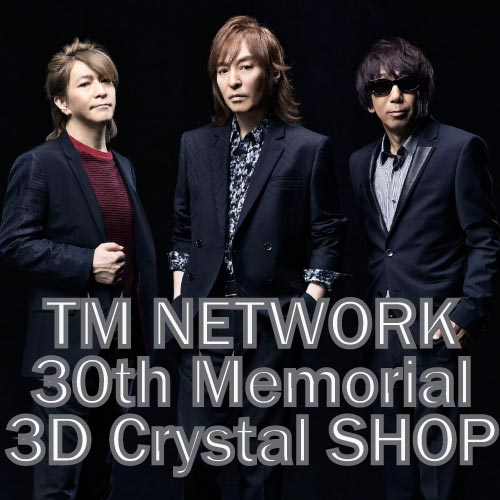 TM NETWORK 30th Memorial Crystal SHOP